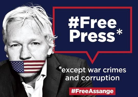 Campaña del NUJ por la libertad de Julian Assange - FeSP - Federación de  Sindicatos de Periodistas